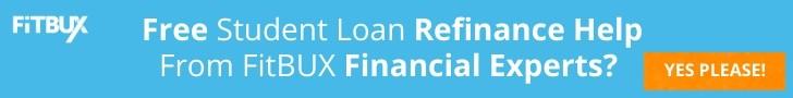 FitBUX's Free Student Loan Refinance Service