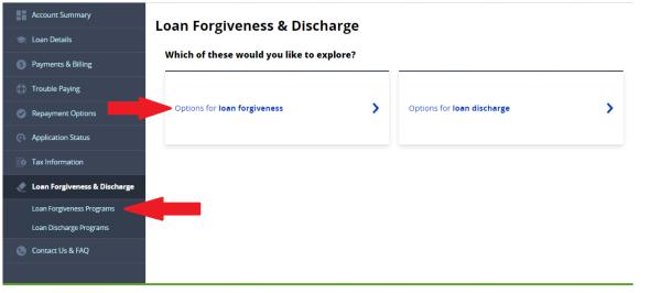 Public Service Loan Forgiveness Guide Employment Certification Form Step 1