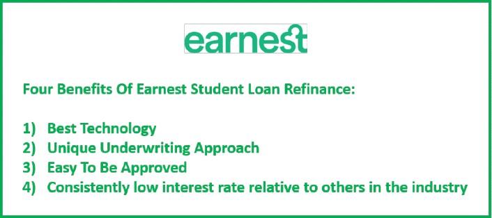 4 Benefits Of Earnest Student Loan Refinance