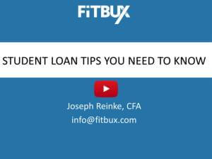Student Loan Tips You Need To Know