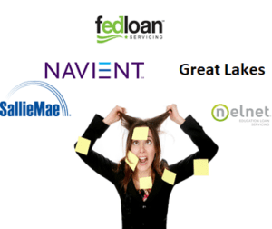 Navient Great lakes fed loans nelnet sallie mae